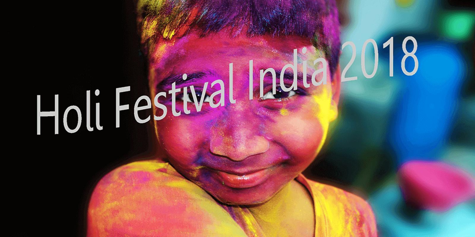 Holi festival india 2019