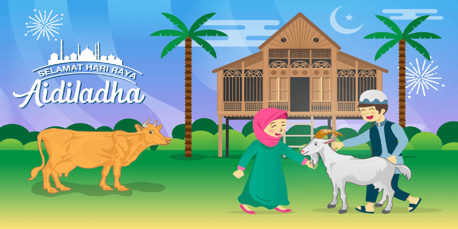 eid ul adha mubarak wishes cover