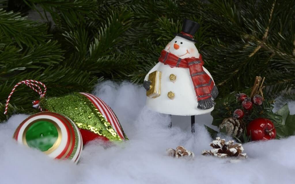 Christmas snowman image