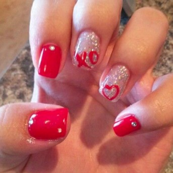 valentines day nail design 11