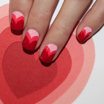 valentines day nail design 13
