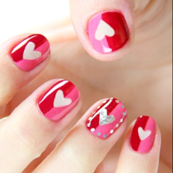 valentines day nail design 14 1