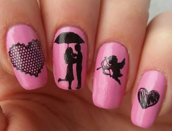 valentines day nail design 16