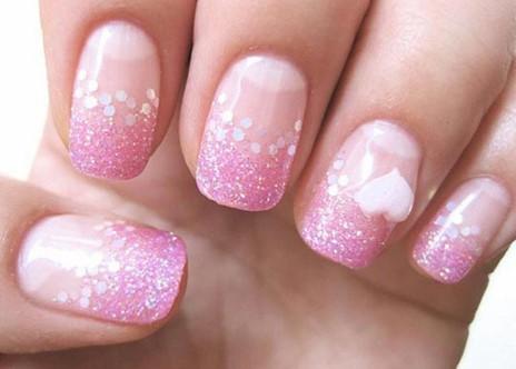 valentines day nail design 17