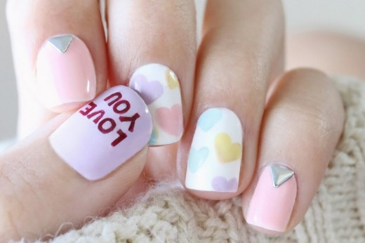 valentines day nail design 2 1