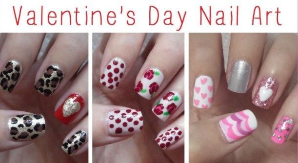 valentines day nail design 21