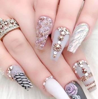 valentines day nail design 6