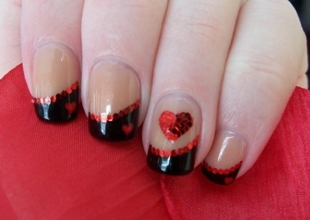 valentines day nail design 8