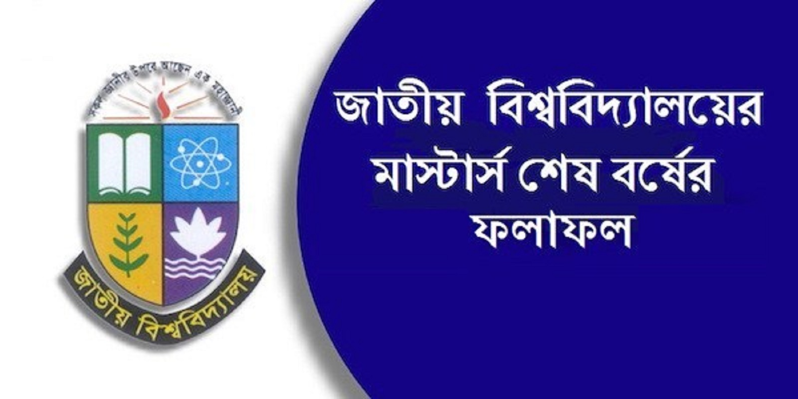 National University masters final year result