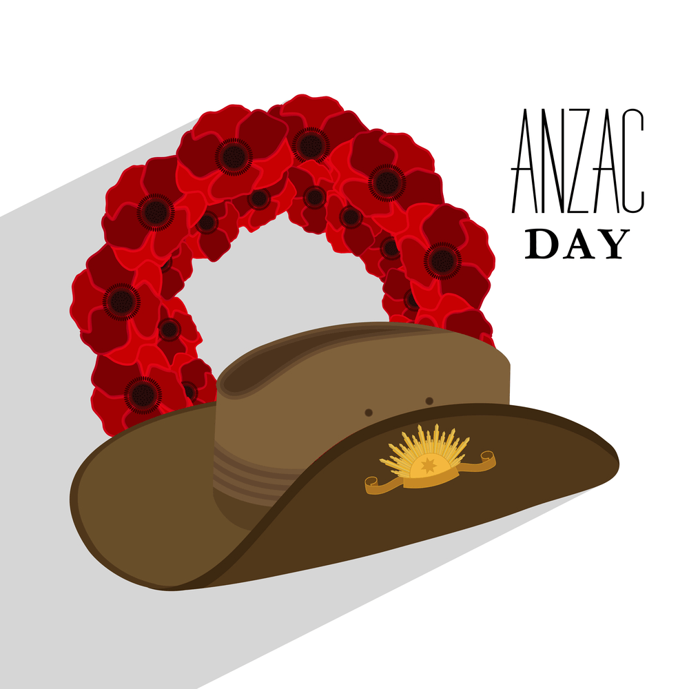 Anzac day hat images