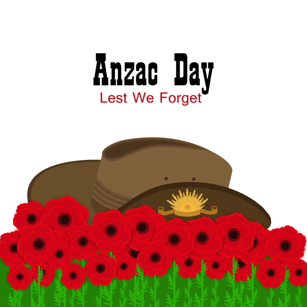Anzac day image for share