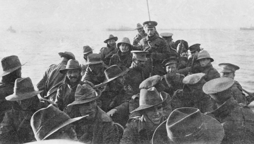 Gallipoli Campaign soldier images