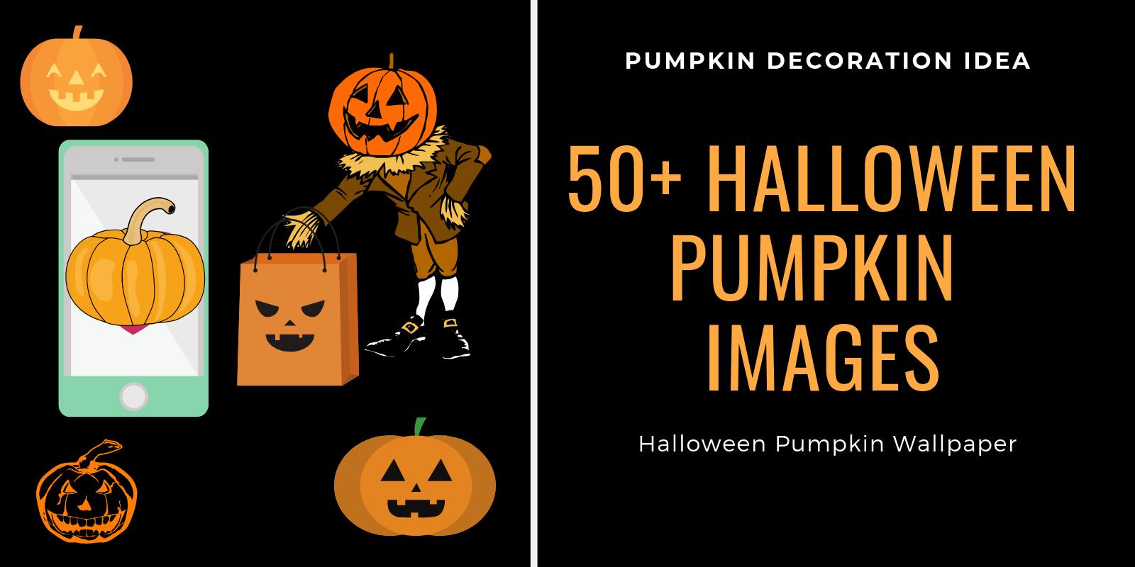 Halloween pumpkin image wallpaper