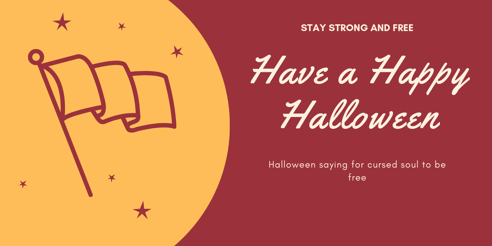 Have a Happy Halloween saying