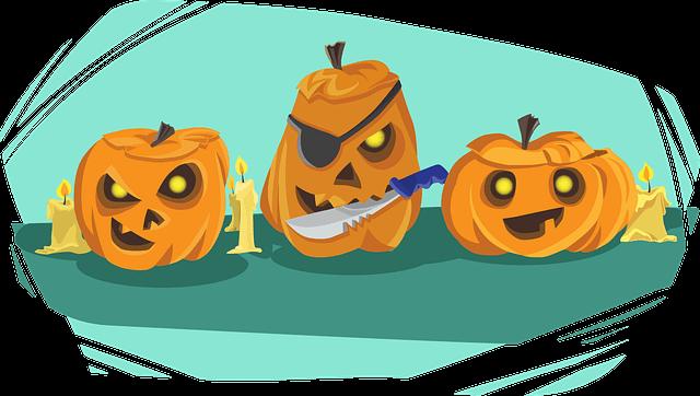 captions for halloween