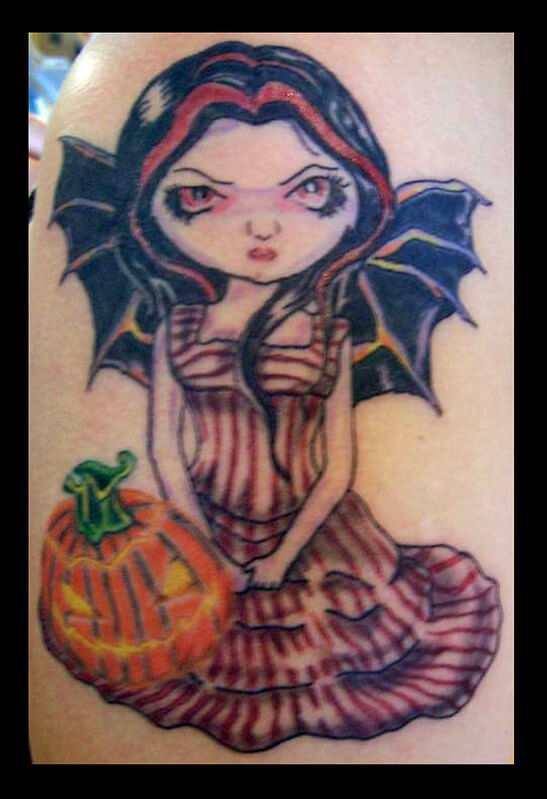cute halloween tatoos