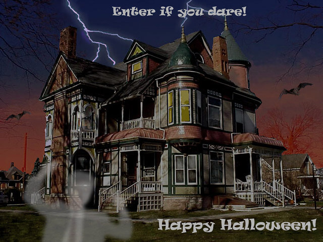 enter if you dare halloween haunted house