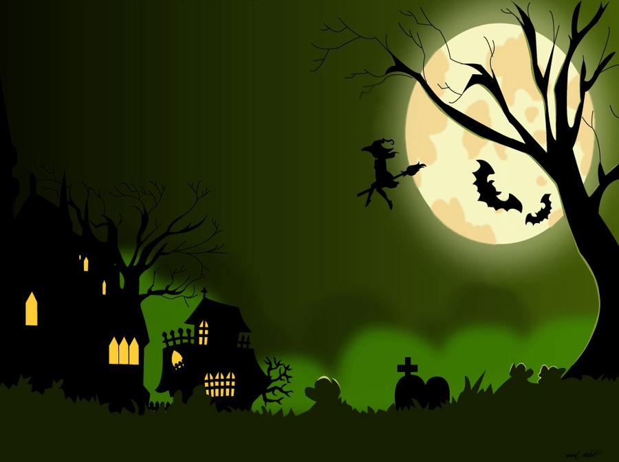 green halloween 1