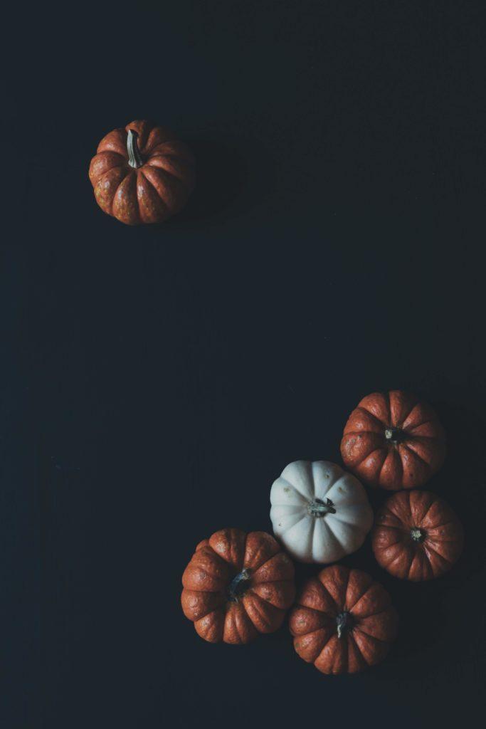 halloween dark pumpkin image