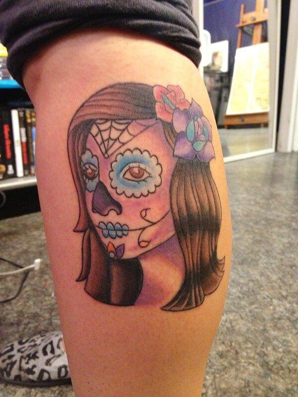 halloween evil tatoos