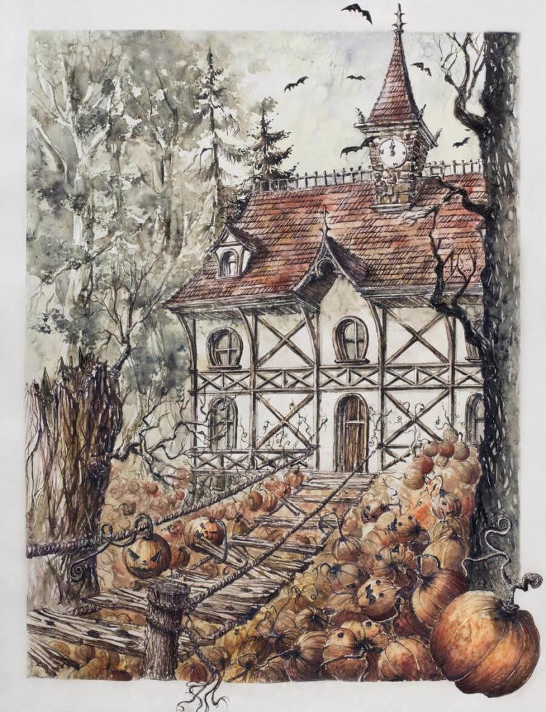 halloween haunted house 1