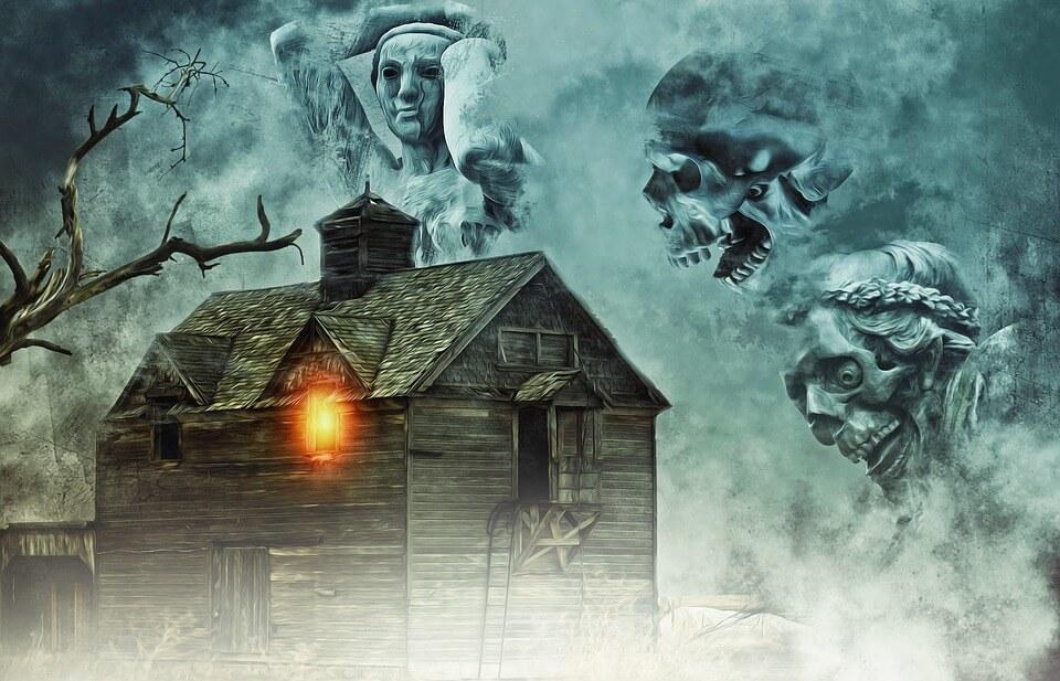 halloween haunted