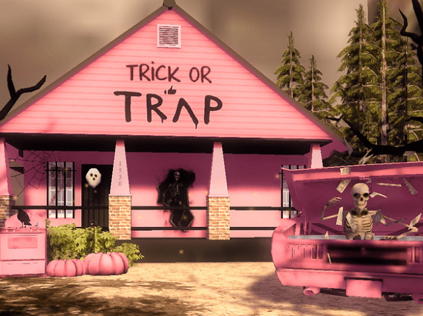halloween home trick or tap