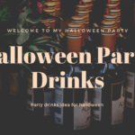 halloween party drinks idea