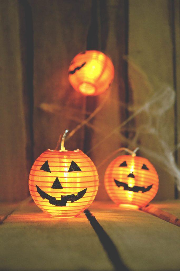 halloween pumpkin images lighting