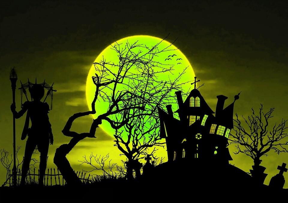 halloween scary houses