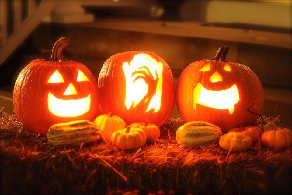 halowen pumpkin