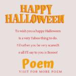 happy halloween poem
